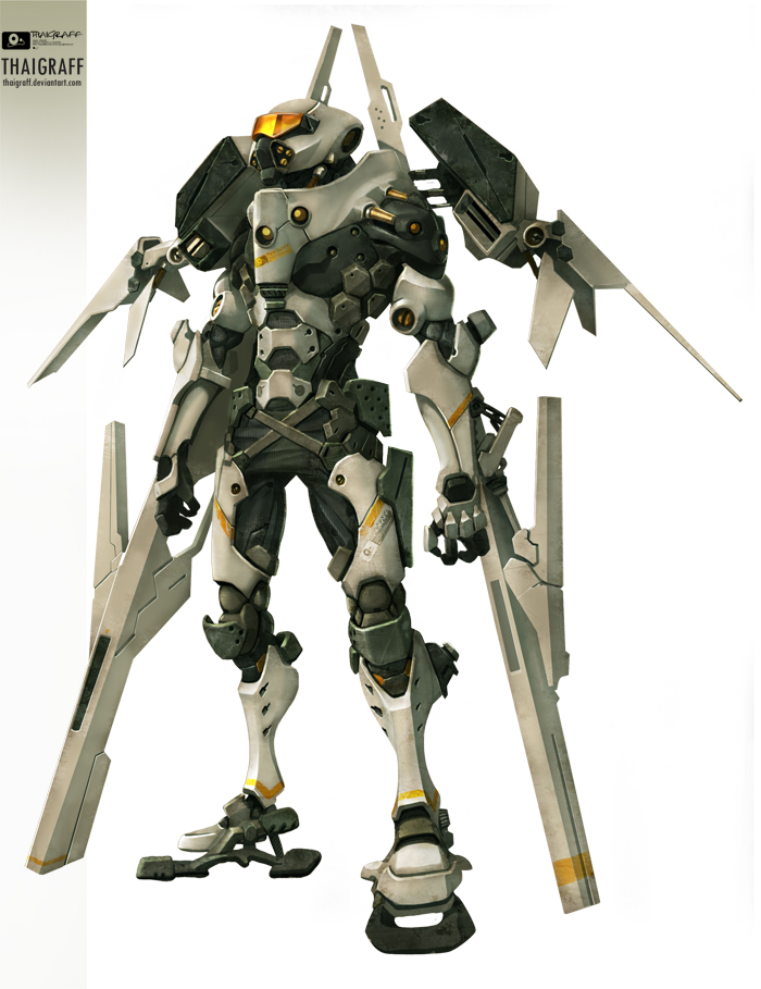 robot 03 air by thaigraff