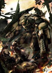 robot war03 by thaigraff