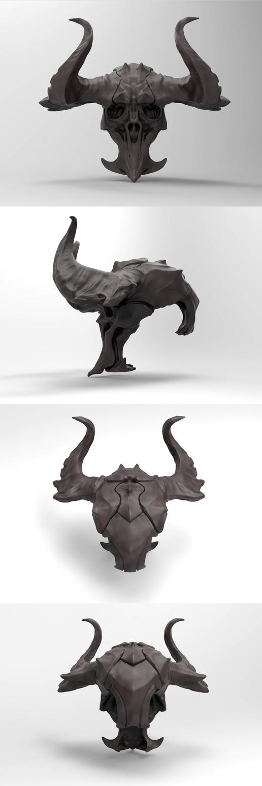 skullA by thaigraff