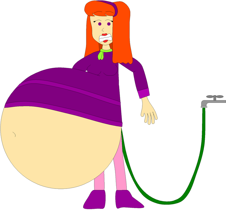 Daphne's water inflation by Angry-Signs on DeviantArt