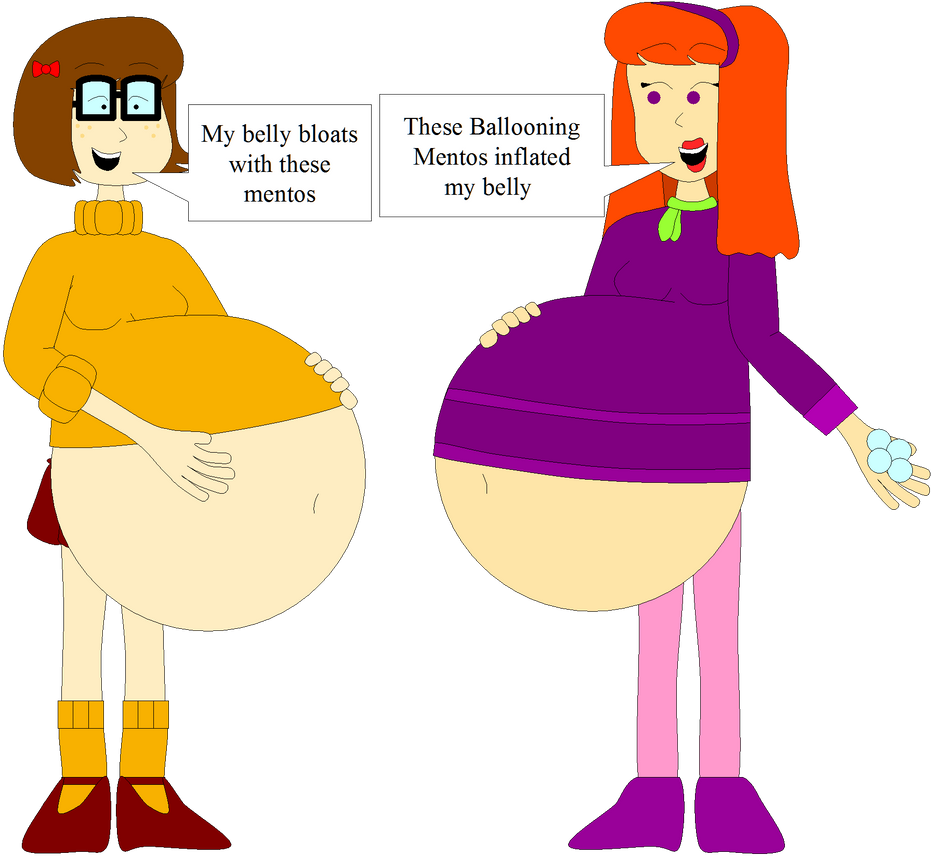 Velma And Daphne's Ballooning Mentos Inflation By Angry