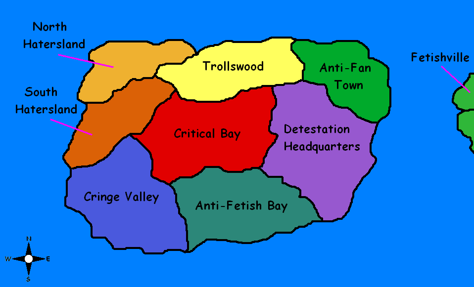 Map of Cringeland by Angry-Signs