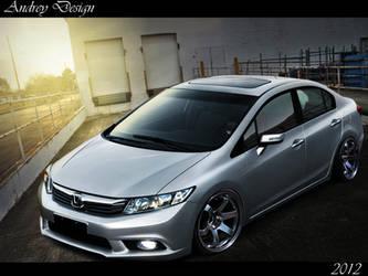 Honda Civic by AndreyDesigner