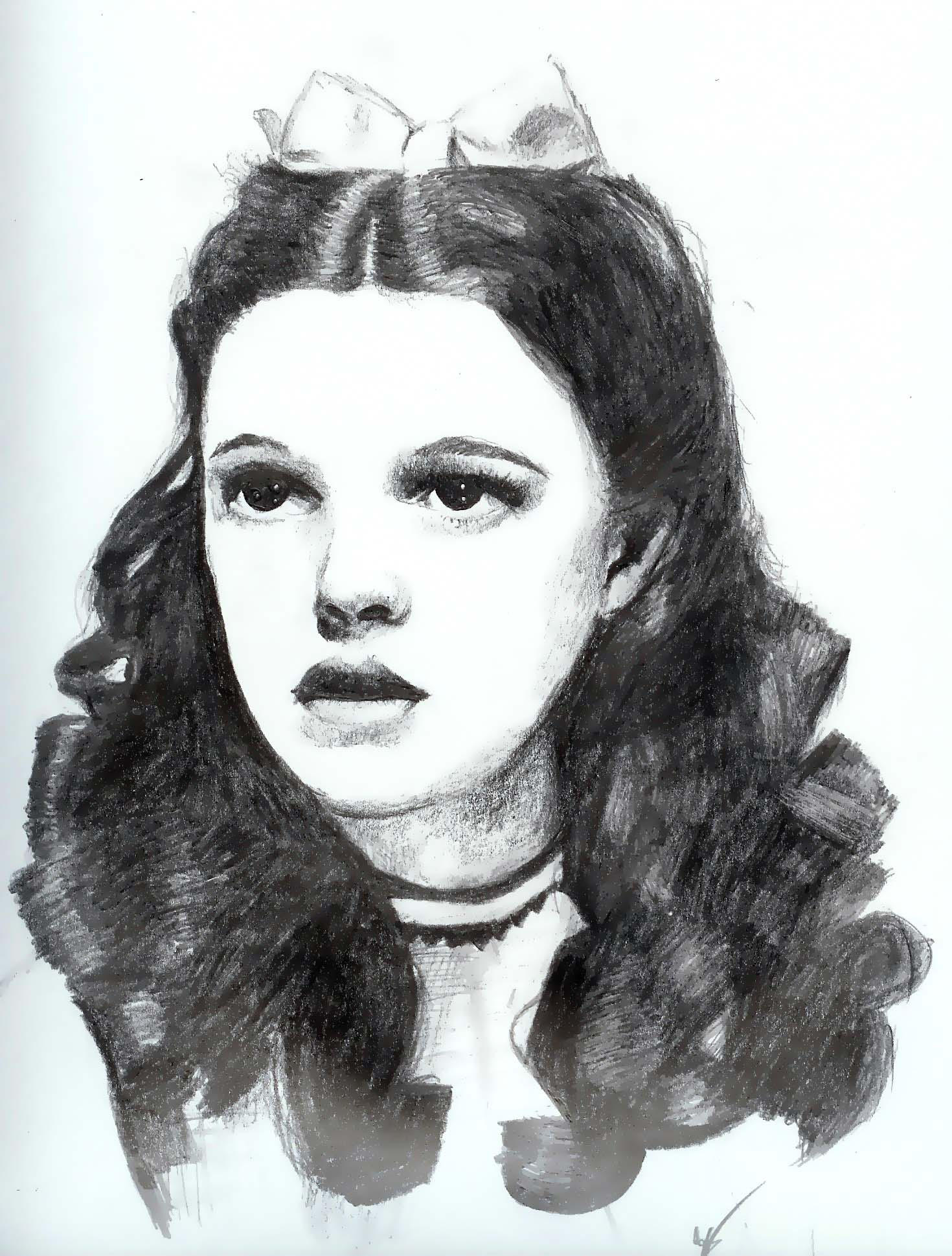 Judy Garland 'Dorothy' by nosprouts on DeviantArt