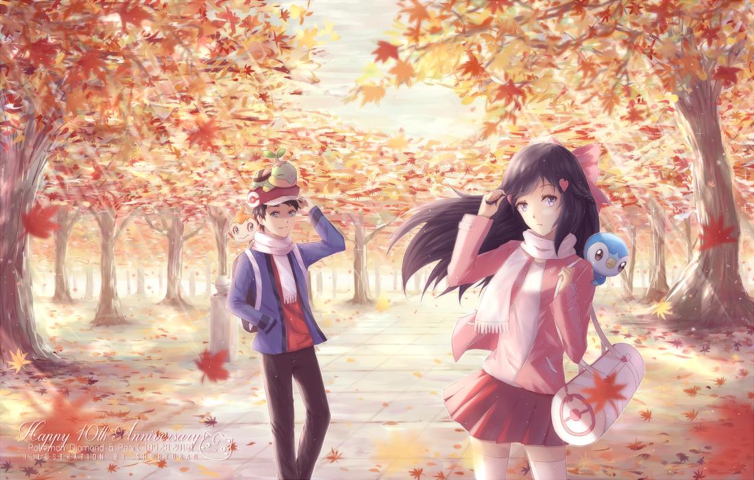 Pkmn: Autumn's Dawn by shuryukan