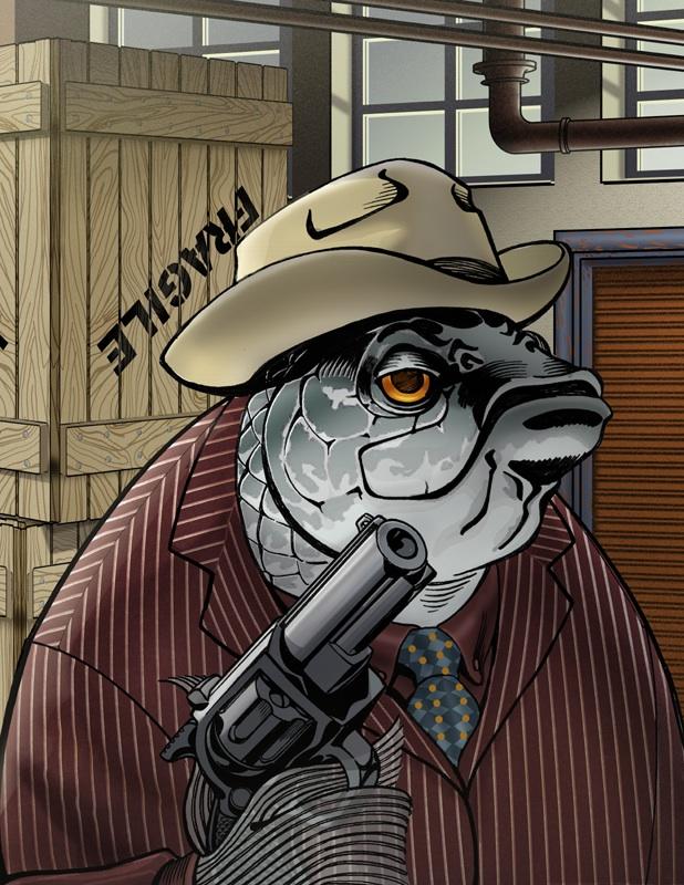 Mr. Big Fish by RichYan33