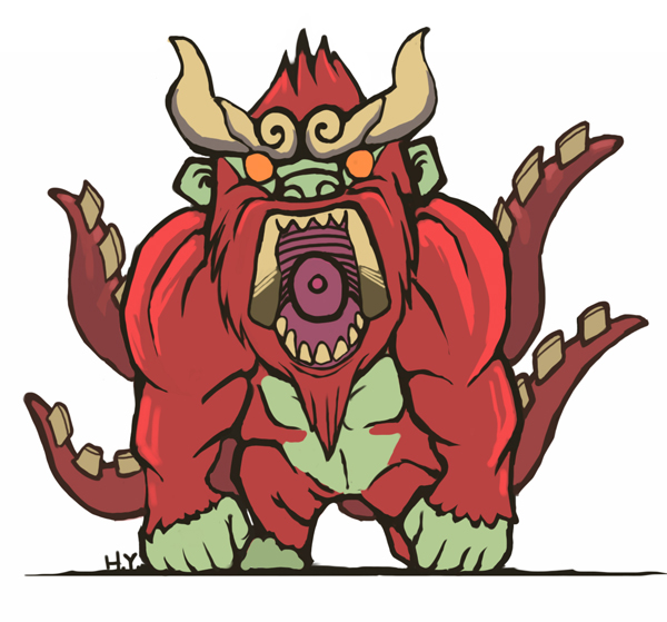 Tailed Beasts Wallpapers: Four Tailed Beast By Harry-Yu On DeviantArt