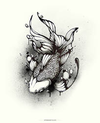 Gold Fish by Harry-Yu