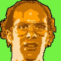 Keith Apicary NES Cutscene Mugshot by netnerdy