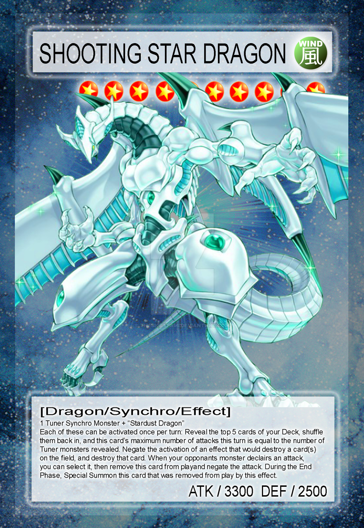 Shooting Star Dragon By Quasar Wallpaper