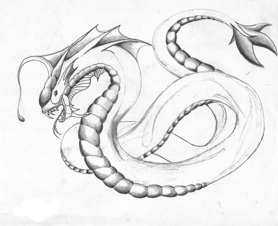 Sea Worm Lamprey By Jee Youn Lim