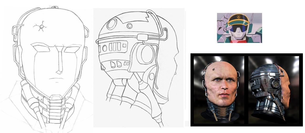 Gunmax Head Study by Jee-Youn-Lim