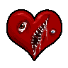 Insidious Emoticon Contest: Heart by MiseryGk