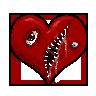 Insidious Emoticon Contest: Heart by MiseryGk