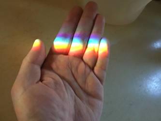 Hold the rainbow by DavetheBunnyboy
