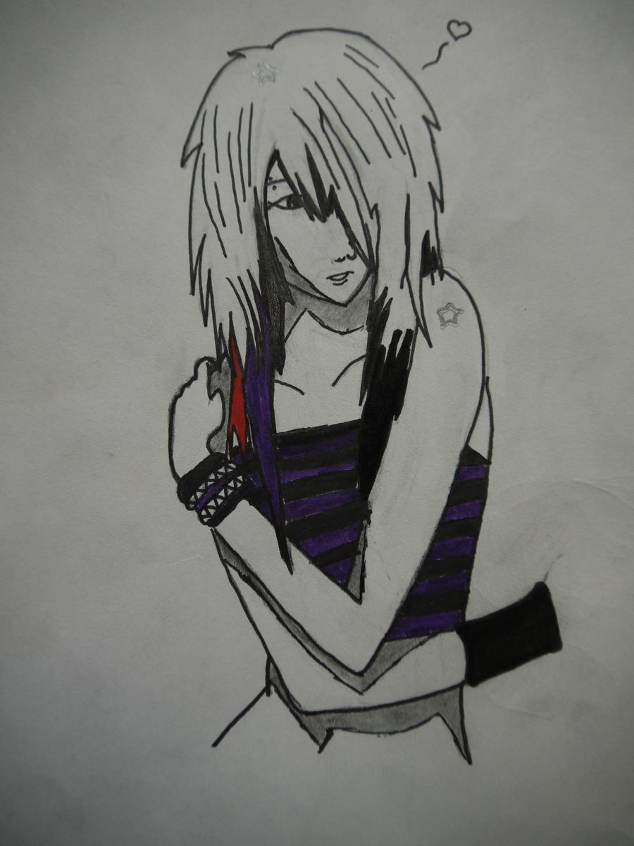 Emo Girl Drawing Crying Sad Emo Girl Anime