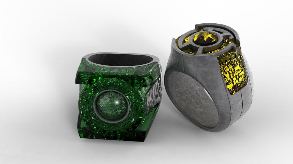 Sinestro Movie Ring Replica