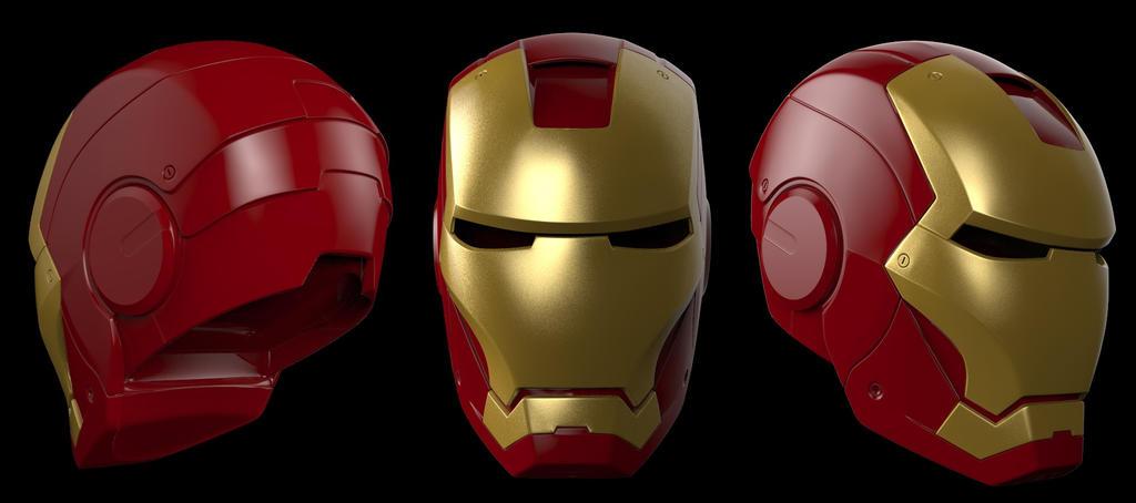 el ideal para principiantes Iron_man___mk_3_helmet_by_dubean33-d60qsf4