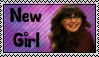 New Girl Stamp by SophieTheVampire