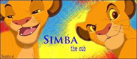 Simba Signature by SophieTheVampire