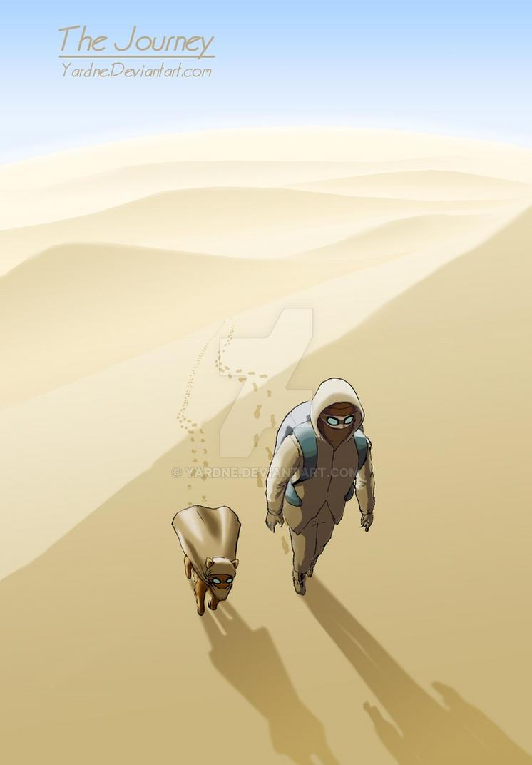 Day 134 - through the desert by YardnE