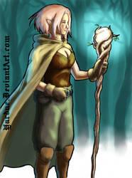 Magician elf druid