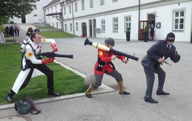 Spy need a Rocketpunch by eente