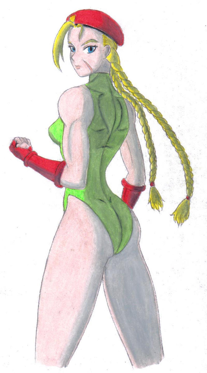 Cammy, Delta Red (Green) by HPL-The-Outsider