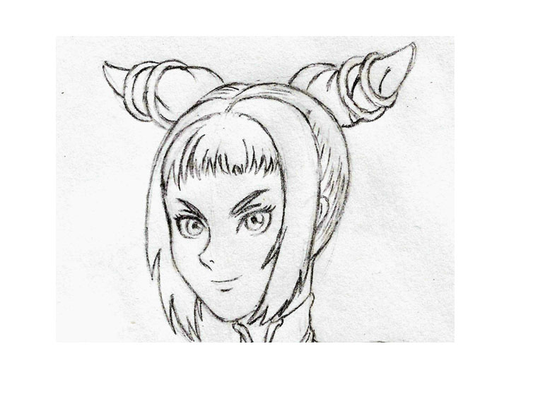 Juri Han Face by HPL-The-Outsider
