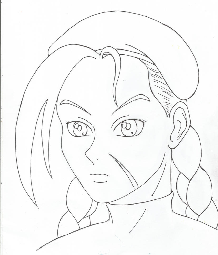 Cammy Quick Portrait by HPL-The-Outsider