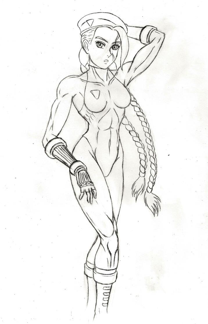 Sexy Cammy sketch by JB4C