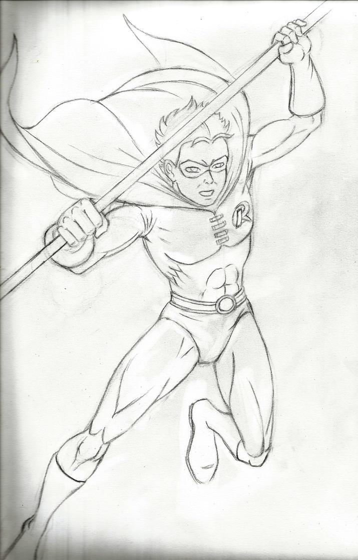 Robin - sketch by JB4C