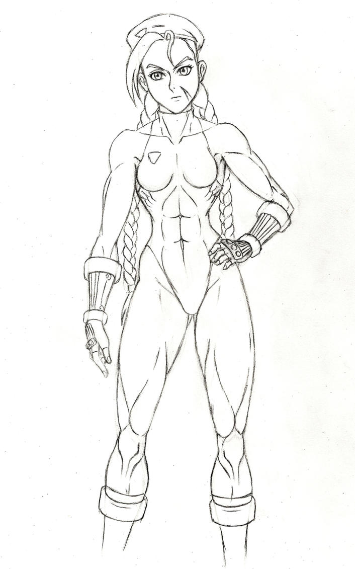 Cammy practice sketch by JB4C