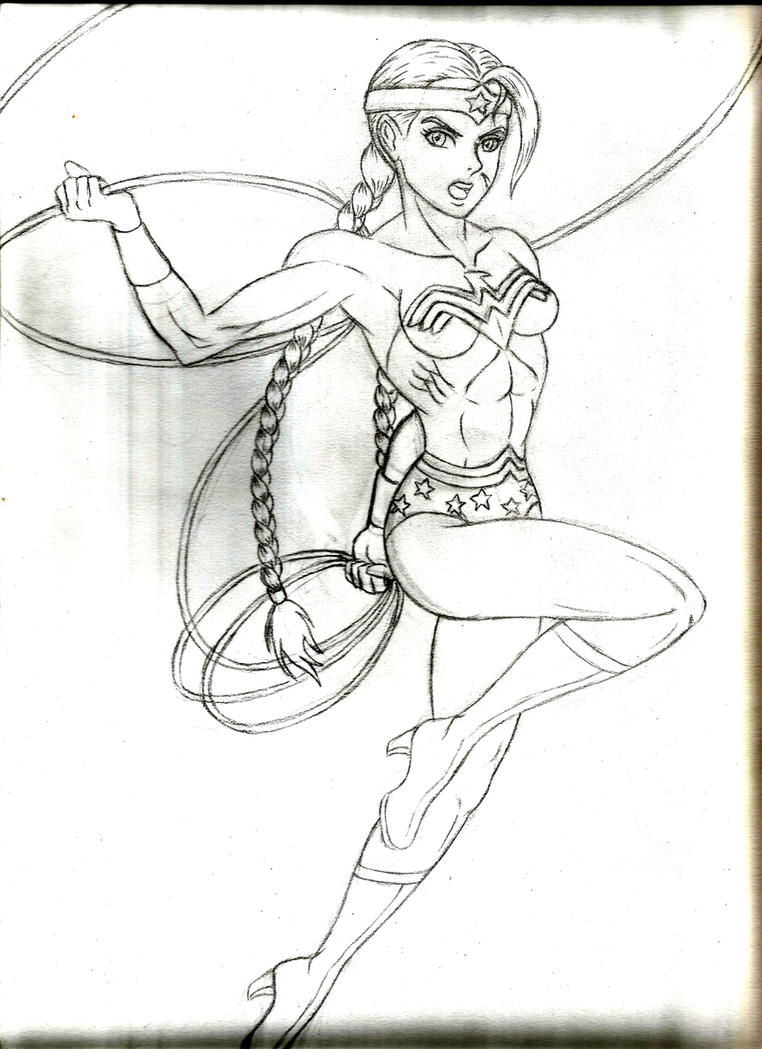 Wonder Cammy - sketch by JB4C