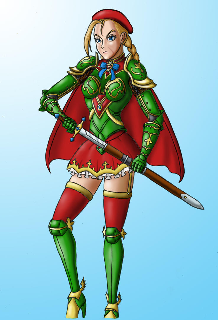 Warrior Princess Cammy - Colors by JB4C
