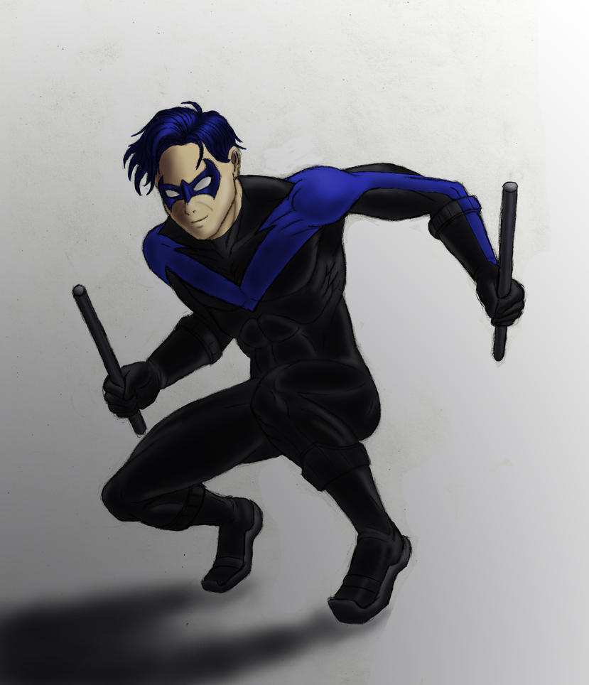 Nightwing - color version by JB4C