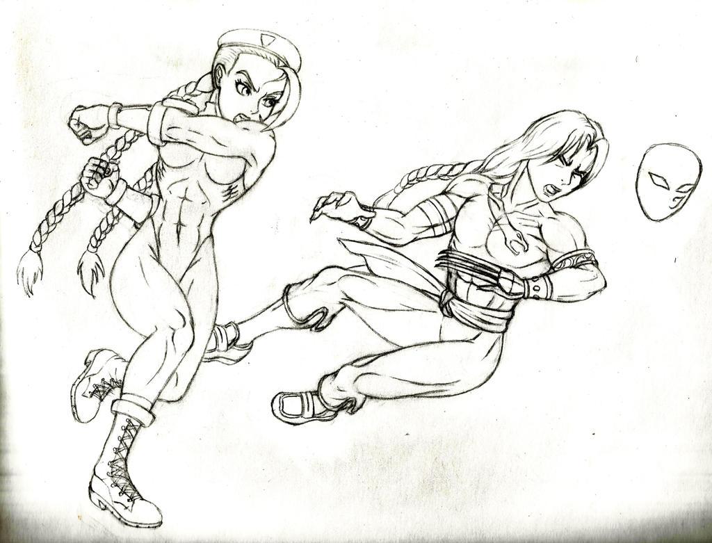 Haymaker - sketch by JB4C