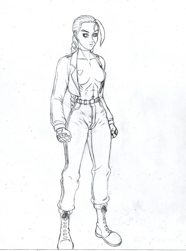 Cammy alt - sketch by JB4C