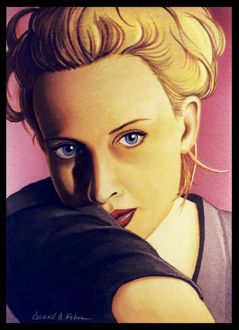 Portrait of Lisa by dadenko