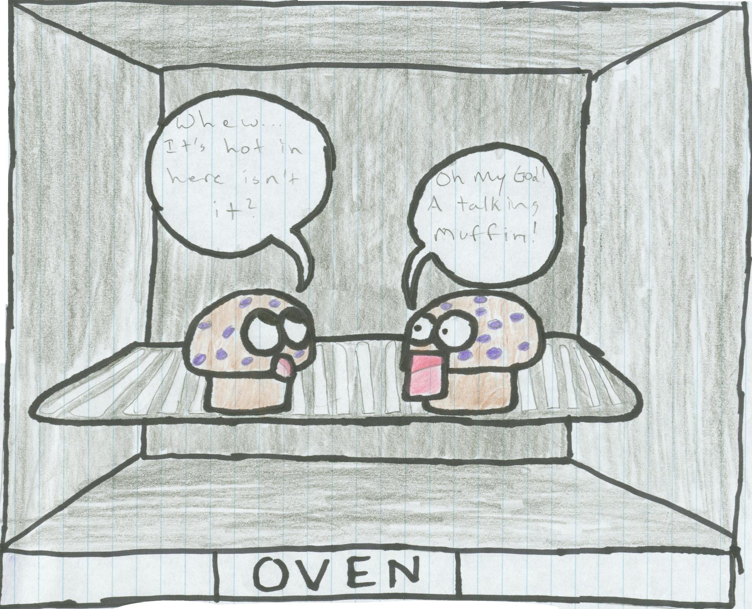 Muffin Cartoon by Raz-XZ