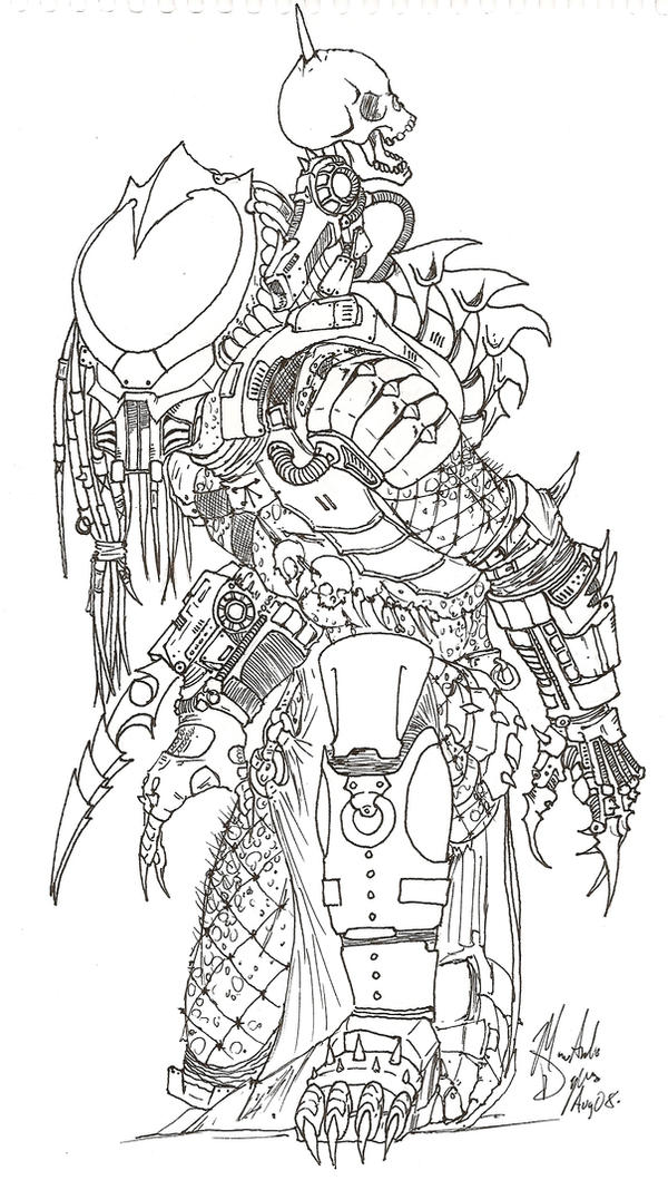 predator coloring pages - photo#28