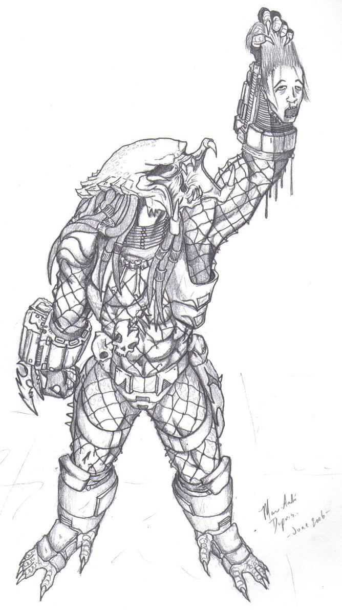 predator 2 by immortalundead
