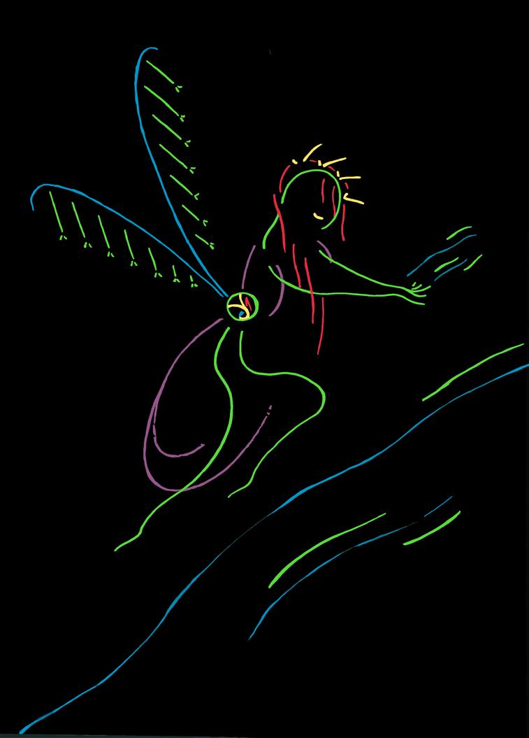 The Fairy Queen Manifests by EveningAlchemist