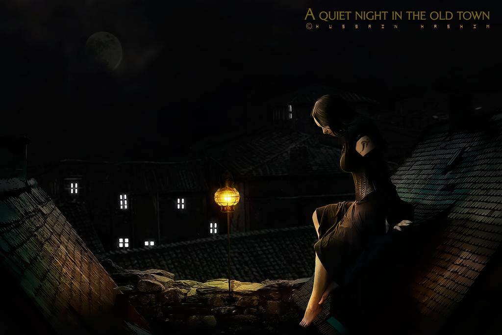 Quiet night by HussainHashim