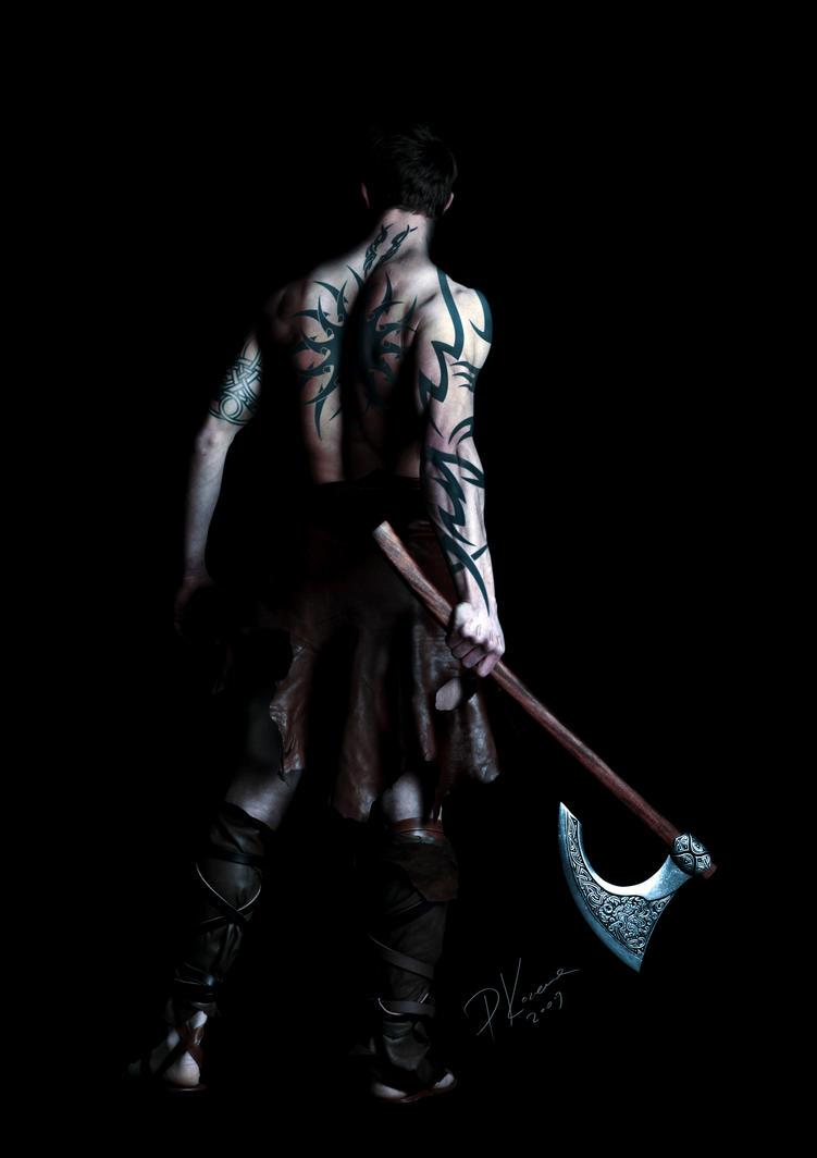 Rune Warrior - detail by asgoth-de-agra