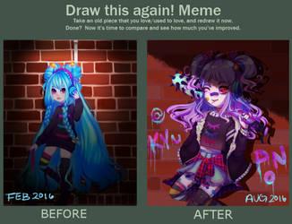 Draw This Again Meme by KatlynWinchester