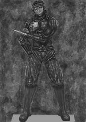 Orc Assassin Shadowrun