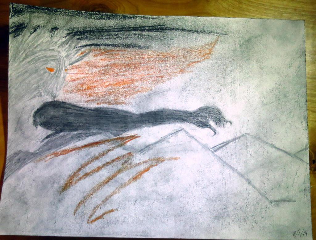 Downfall of Sauron Sketch by Legofrodo12