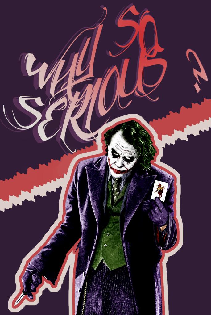 The Joker - Why so serious? by Leettle1 on DeviantArt  The Joker - Why...