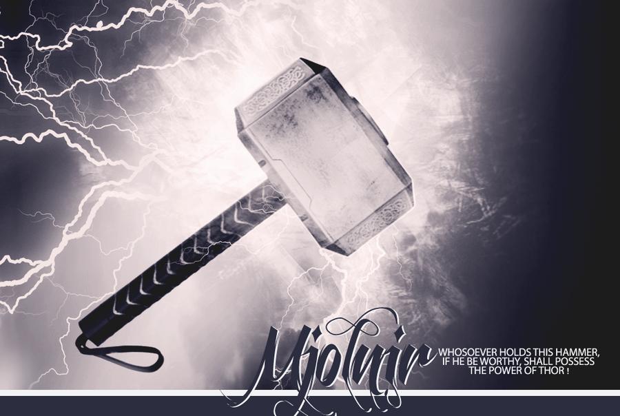 thor s hammer mjolnir by leettle1 on deviantart